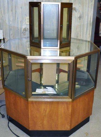 Specialty Octagonal Display Case