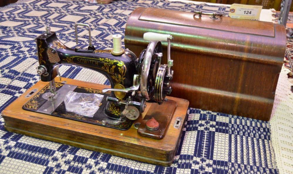 Sowitch Antique Sewing Machine