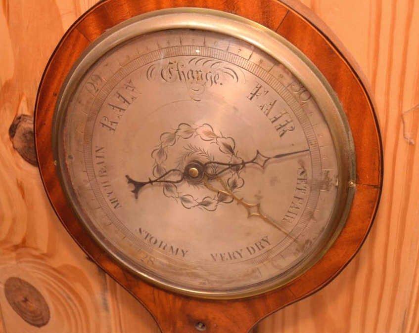 English Wheel Barometer - 3
