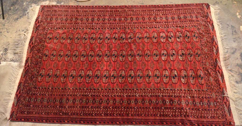 Antique Turkhoman Rug