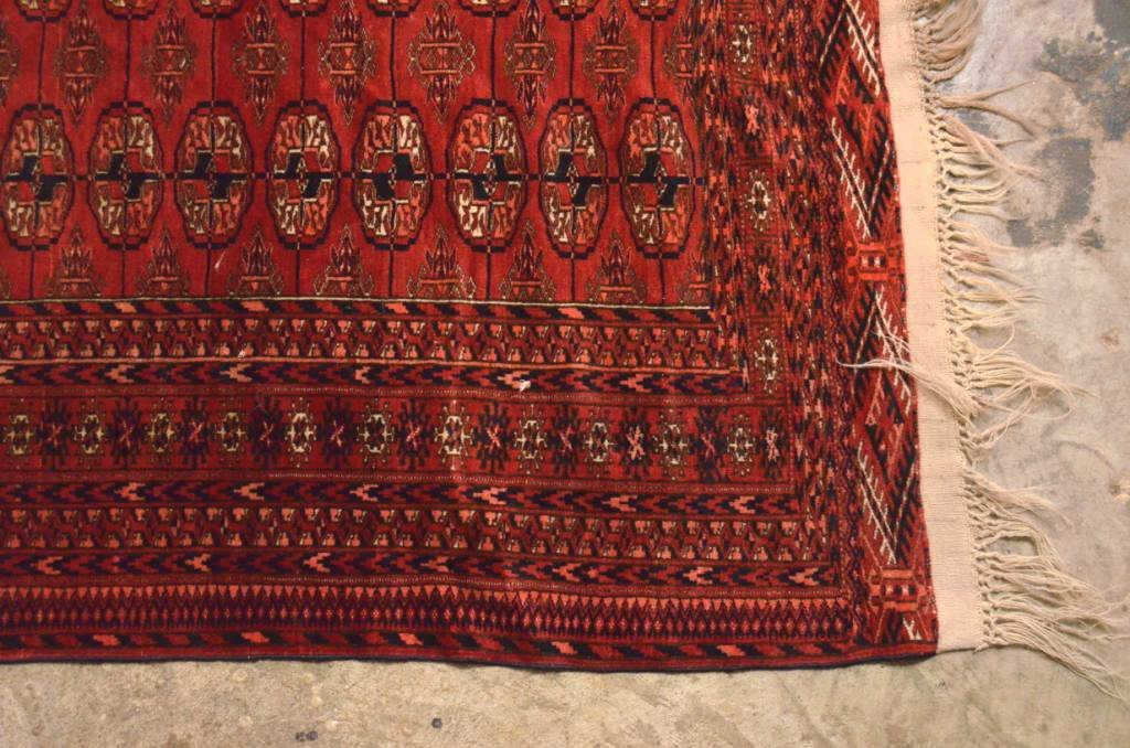 Antique Turkhoman Rug - 2