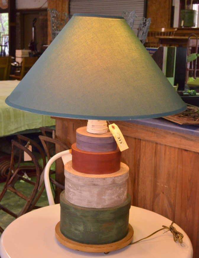 Decorative Shaker Box Lamp
