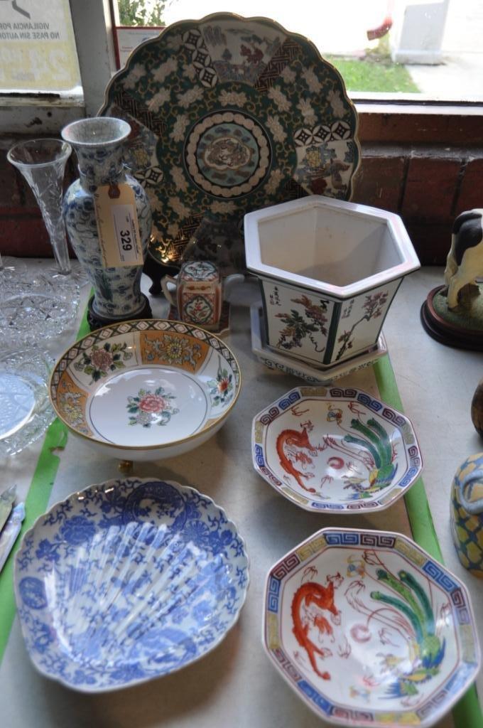 8 Piece Japanese Decorative Porcelain