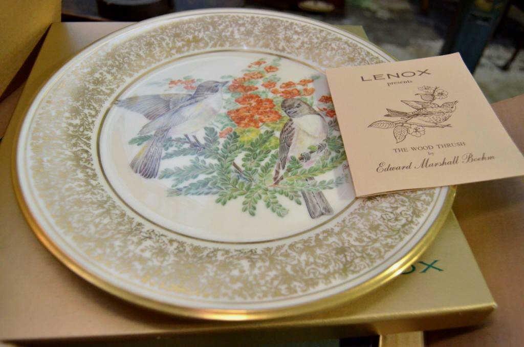 Lenox, Boehm Songbird Plates - 2