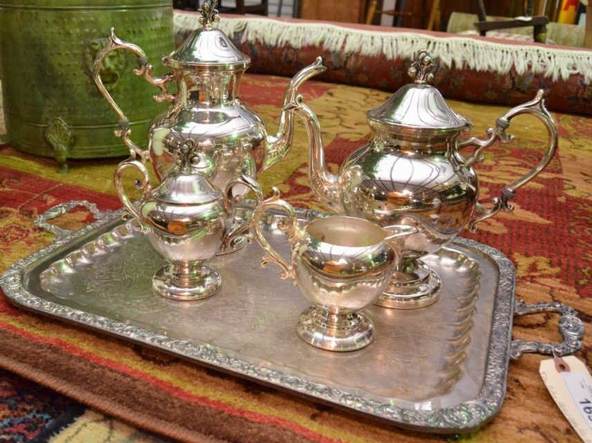Silver Plated Coffee and Tea Service
