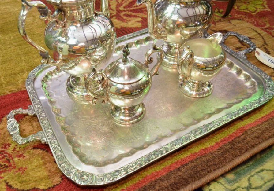 Silver Plated Coffee and Tea Service - 2