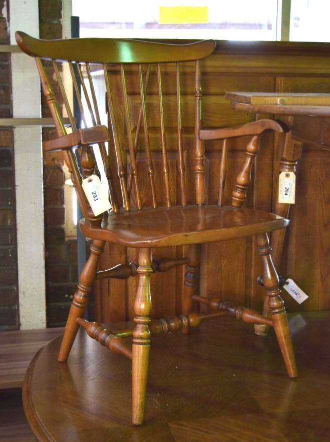 Sprague & Carleton Maple Chair