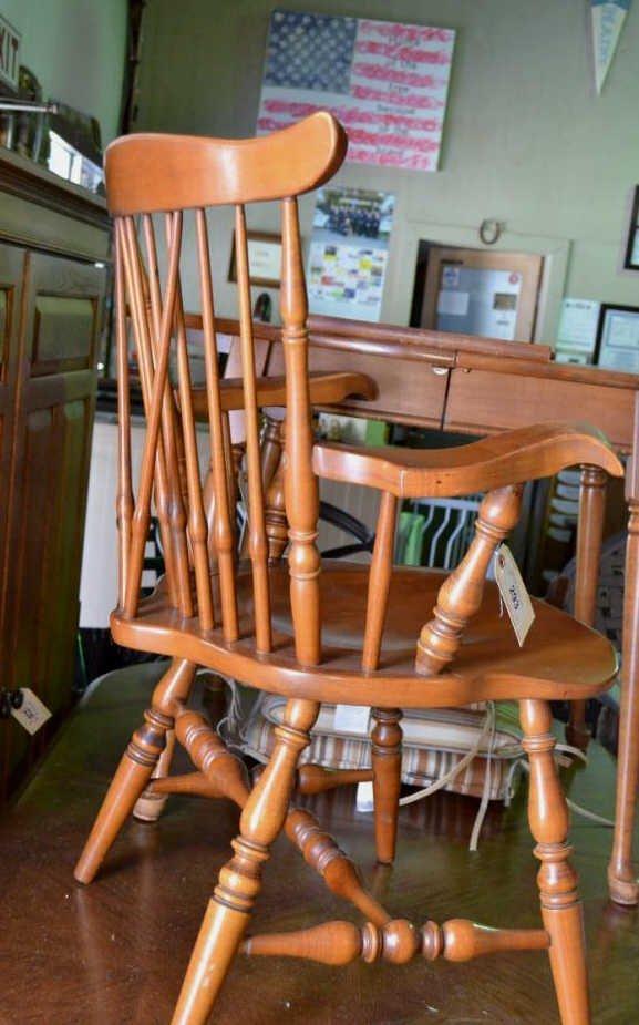 Sprague & Carleton Maple Chair - 2