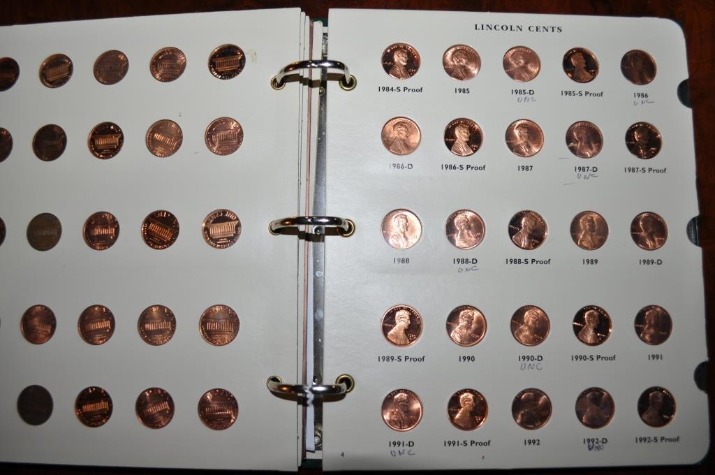 147 Mint, Proof & Unc. Lincoln Cents - 3