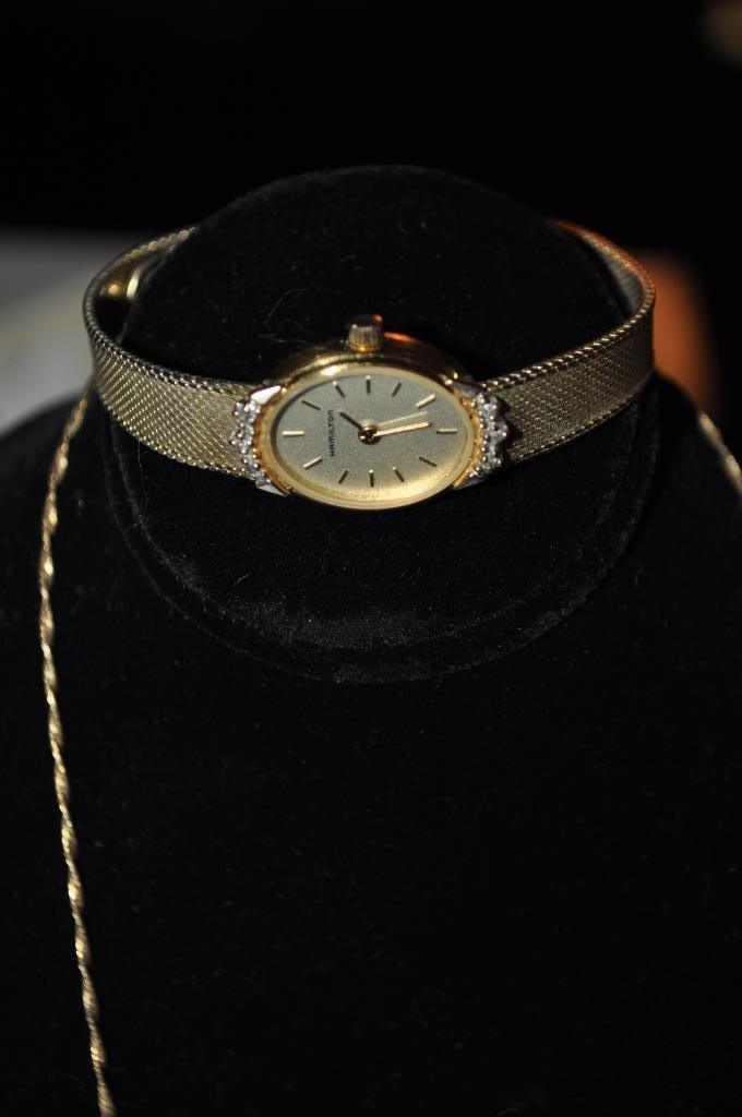 Hamilton Ladies Watch & Sterling Heart Pendant - 2