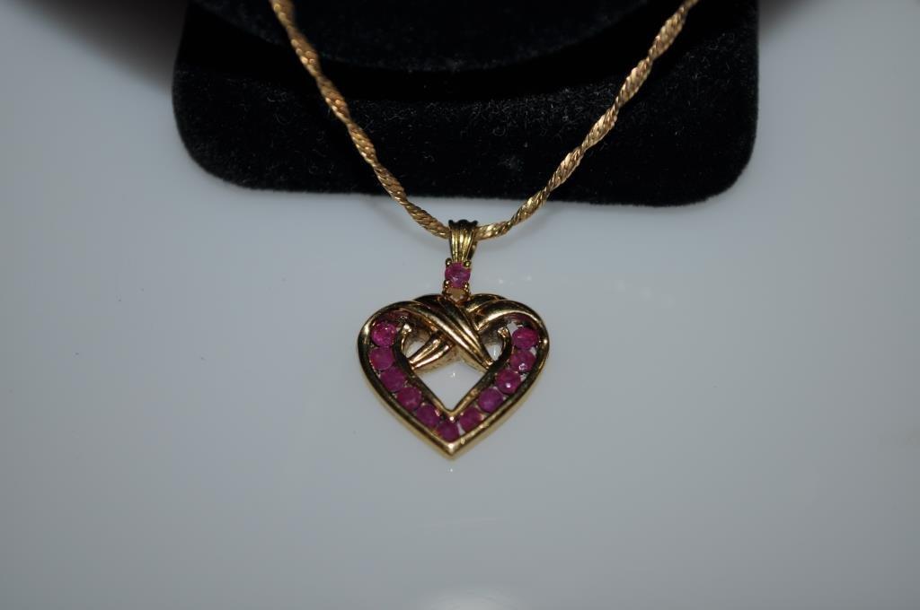 Hamilton Ladies Watch & Sterling Heart Pendant - 3