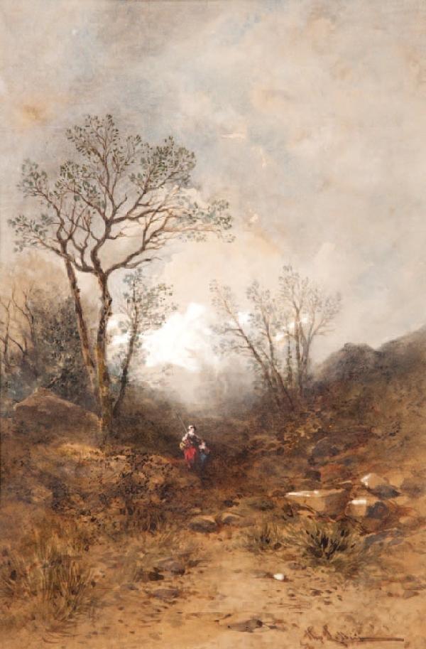 2: Hippolyte LEBAS (1782-1867) La bergère et le pâtre