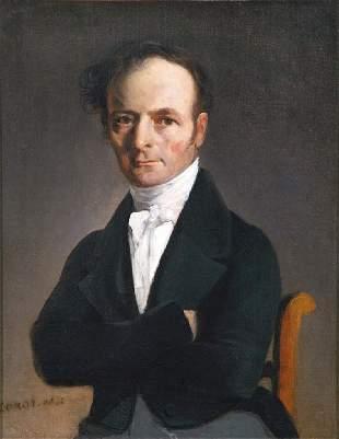 *Jean-Baptiste-Camille COROT* (1796-1875)Portr
