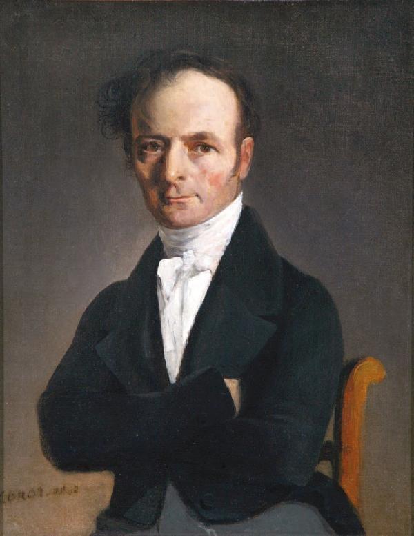 11: *Jean-Baptiste-Camille COROT* (1796-1875)Portr