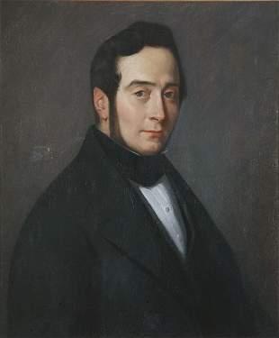 *Jean-François MILLET* (1814-1875) Portrait