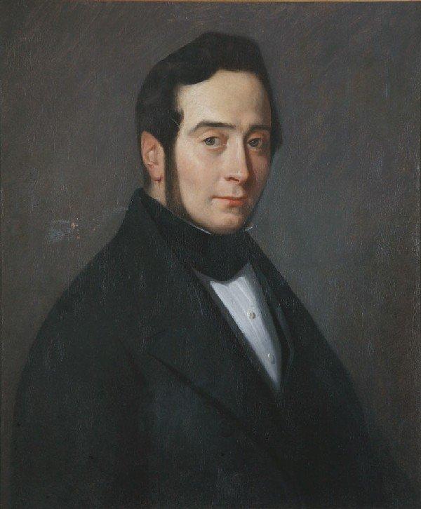 14: *Jean-François MILLET* (1814-1875) Portrait