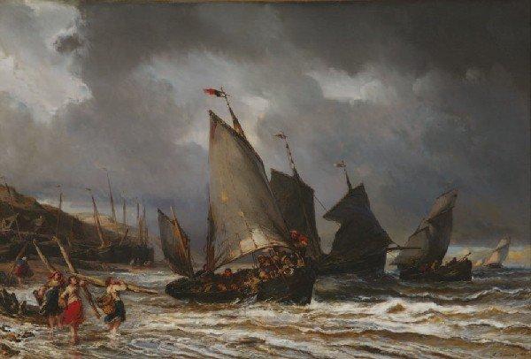 18: *Louis-Gabriel-Eugène ISABEY* (1803-1886) Dépar