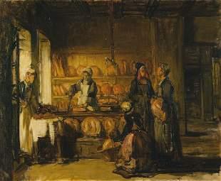 Joseph BAIL (1862-1921)La boulangerie des Hospices