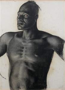 293: Alexandre IACOVLEFF (1887-1939)Sara, (race Sara) ,