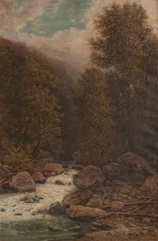 Ilya Nikolaevich ZANKOVSKY - Rivière en forêt