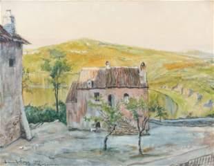 Alexandre BENOIS - Paysage, 1903