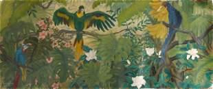 Nikolai Petrovich AGAPOFF - Perroquets dans la jung