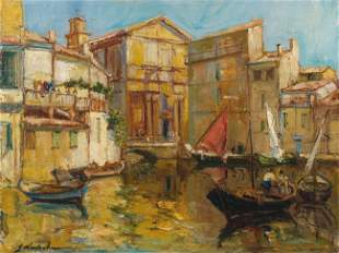 Georges LAPCHINE - Les Martigues