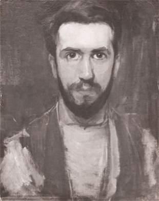 ANONYME-Autoportait peint de MONDRIAN