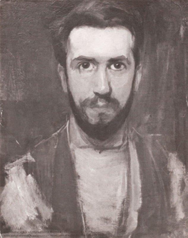 1: ANONYME-Autoportait peint de MONDRIAN