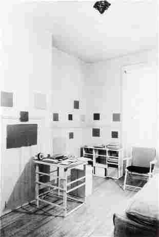 ANONYME-Chambre de Mondrian à NYC, 1944