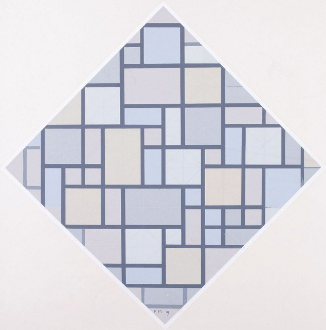 14: Piet MONDRIAN-Composition