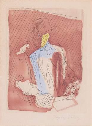Jacques VILLON-Portrait d'homme