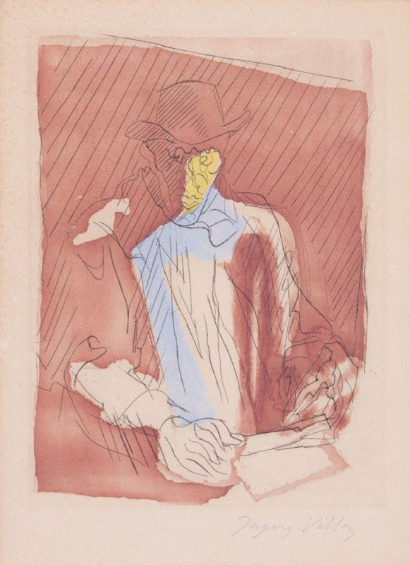 18: Jacques VILLON-Portrait d'homme