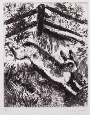 Marc CHAGALL-Le lapin