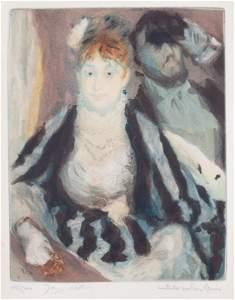 27: Jacques VILLON-La loge d'après Renoir. 1928