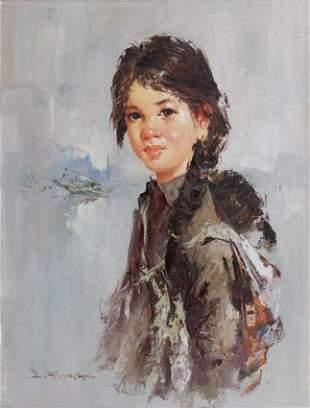 Lee Man FONG - Jeune fille