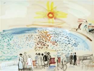 170: Raoul DUFY - Coucher de Soleil sur Sainte-Adresse,