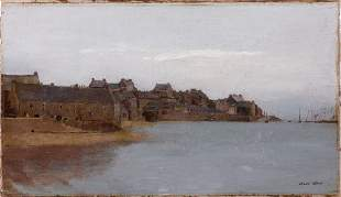 Odilon REDON - Paysage breton