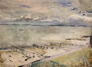 Edouard VUILLARD - La côte à Honfleur