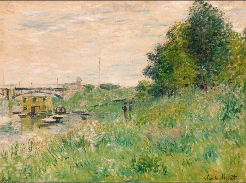 11: Claude MONET - Les bords de la Seine au pont d'Arge