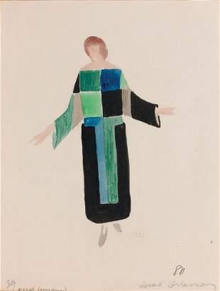 Sonia DELAUNAY - Projet de robe