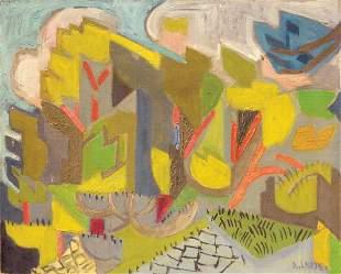 26: André LHOTE - Paysage cubiste
