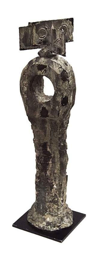 44: Joan MIRO - Oiseau perché sur un arbre (AMA # 67)