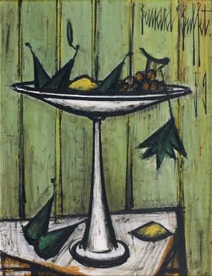 46: Bernard BUFFET - Nature morte aux fruits