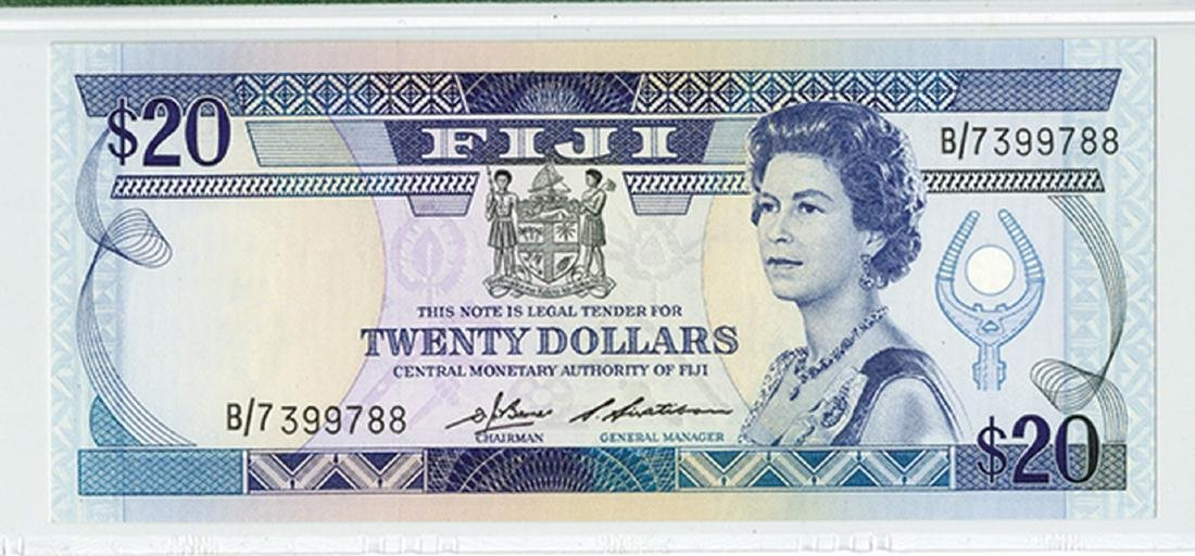 Fiji, Central Monetary Authority ND (1986) Issue - 2
