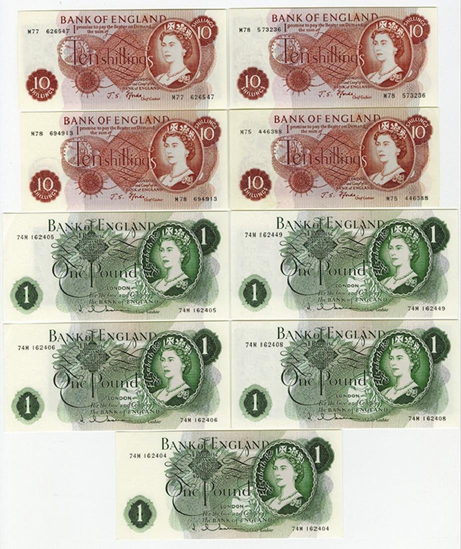 Bank of England, 1963-1967 Replacement Banknote