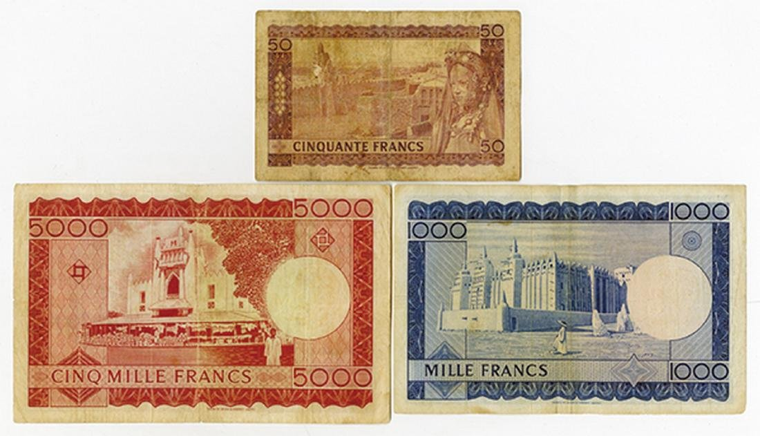Banque De La Republique du Mali, Second 1960 (1967) - 2