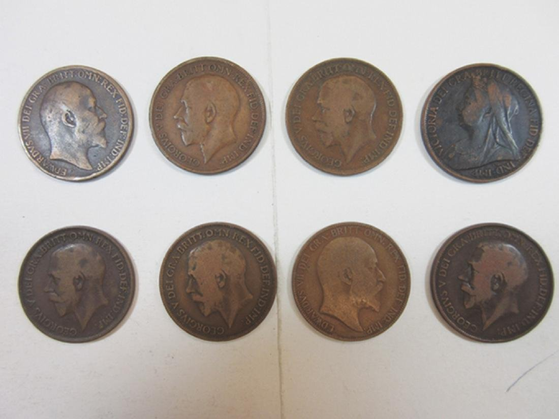 Great Britain Half Penny & Penny Assortment in Whitman - 2