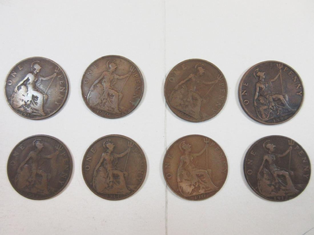 Great Britain Half Penny & Penny Assortment in Whitman - 3