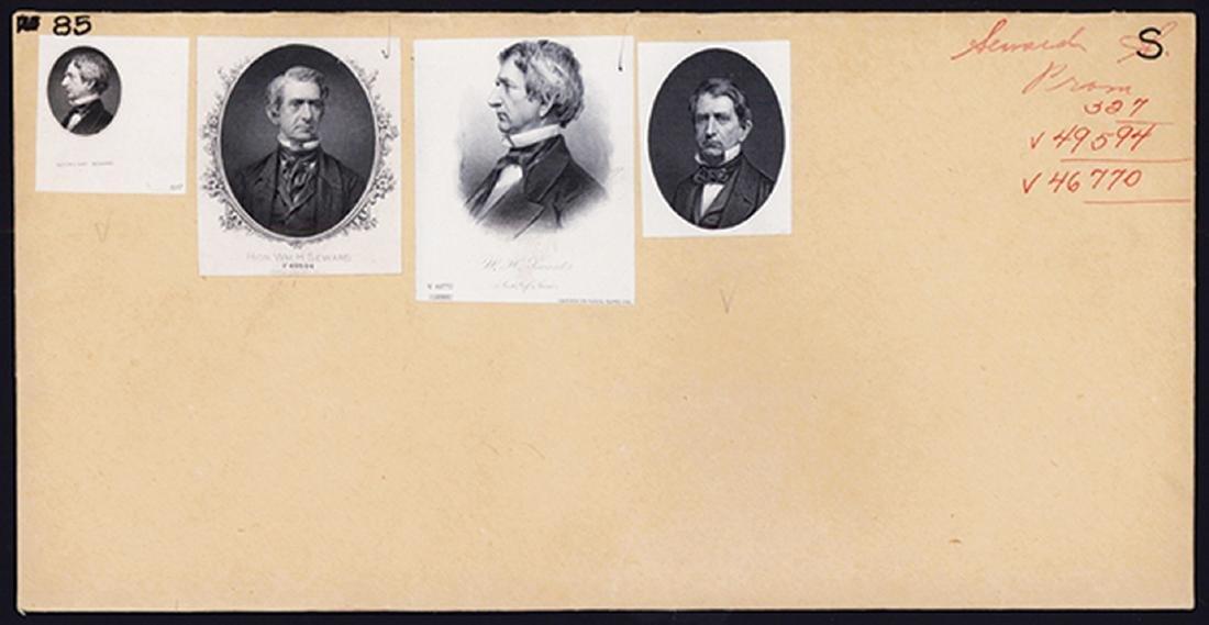 William Seward Proof Vignette Quartet.